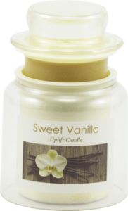 """<strong>Sweet Vanilla</strong> <form style=""""float: center;""""><input style=""""width: 150px; padding: 10px; cursor: pointer; font-weight: bold; background: #4c99ba; color: #ffffff; border-radius: 5px; border: 1px solid #999; font-size: 100%;"""" type=""""button"""" value=""""Shop"""" onclick=""""window.location.href='https://www.dollarscentclub.com/products/flameless-candle'"""" />"""